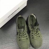 NIKE-004 真標版本情侶款VaporMax Flyknit輕便緩震氣墊運動跑步鞋