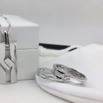 Gucci-01000 古馳專櫃最新情侶項鏈戒指