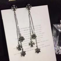 Chrome Hearts-001 克羅心明星時尚同款潮女必備亞金材質流蘇耳環