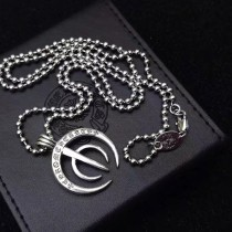 Chrome Hearts-007 克羅心吳亦凡同款亞金材質男女均可佩戴個性圓叉項鏈