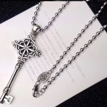 Chrome Hearts-008 克羅心復古歐美熱賣明星同款鑰匙吊墜項鏈