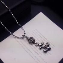 Chrome Hearts-004 克羅心雕刻花型圓珠明星同款男女均可佩戴經典船鋪項鏈