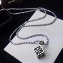 Chrome Hearts-009 克羅心明星同款男女均可佩戴個性方塊吊墜正方體項鏈