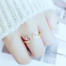 Cartier-0100 卡地亞雙色亞金電鍍18K金工藝緊箍咒Love in life 活口戒指