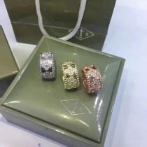 Van Cleef&Arpels-007 梵克雅寶印度18K金專櫃同款S925純銀戒指