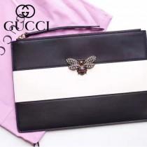 GUCCI-476077-3 瑪格麗特皇后驚艷華麗高貴蜜蜂裝飾玻璃珠彩色水晶手包