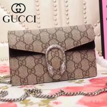 GUCCI-476432-7 Nano mini酒神包可拆卸當手包錢包多功能新款潮流女士單肩包