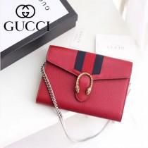 GUCCI-481377-2 Gucci專櫃最新款標誌性織帶時尚潮流酒神小包