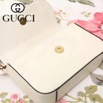 GUCCI-476804 秋冬新款個性虎頭搭配珍珠優雅大方珍珠單肩鏈條包