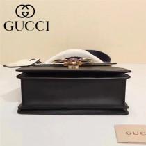 GUCCI-476541 瑪格麗特皇后撞色系列紅白藍色寬肩帶復古時髦手提單肩斜挎包