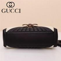 GUCCI-476531 專櫃最新頂級原單GG新款瑪格麗特女士手袋