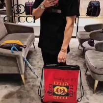 GUCCI-494053-2 Gucci和西班牙藝術家coco  capitan 聯名合作進口牛皮塗鴉手提雙肩背包