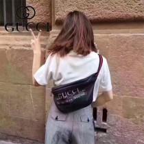 GUCCI-493869 西班牙少女藝術家合作楊冪蔡依林同款塗鴉腰包