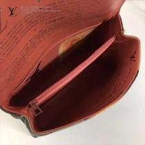 LV M43376 專櫃限量版大師系列CHAIN BAG原單蒙娜麗莎油畫印花鏈條手袋