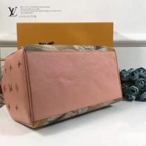 LV M43307 專櫃限量MASTERS-大師系列SPEEDY 30原單少女與狗油畫設計波斯頓包
