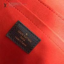 LV M43392-2 時尚休閒SAINT SULPICE原單寶藍色全皮壓花小號鏈條手袋