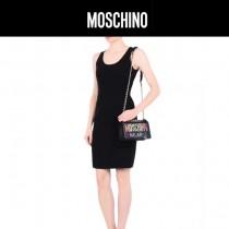 Moschino-055 趣味百搭新品彩色字母LOGO塗鴉鏈條單肩斜挎包
