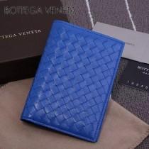 BV-173398-6 小巧輕盈簡約時尚雙折疊設計羊皮護照夾