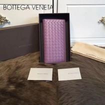 BV-0011 最新款簡單時尚內置拉鏈多卡位羊皮長款錢夾
