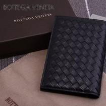 BV-173398-3 小巧輕盈簡約時尚雙折疊設計羊皮護照夾