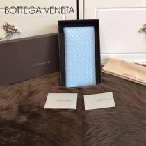 BV-0011-7 最新款簡單時尚內置拉鏈多卡位羊皮長款錢夾