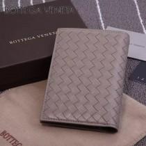 BV-173398-2 小巧輕盈簡約時尚雙折疊設計羊皮護照夾