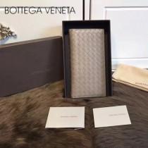 BV-0011-6 最新款簡單時尚內置拉鏈多卡位羊皮長款錢夾