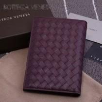 BV-173398-4 小巧輕盈簡約時尚雙折疊設計羊皮護照夾