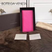 BV-0011-3 最新款簡單時尚內置拉鏈多卡位羊皮長款錢夾