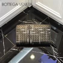 BV-114076 新穎獨特特細線刺繡圖案Intrecciato經典款式拉鏈刺繡手包