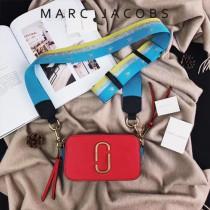 Marc Jacobs-001-10 宋佳趙麗穎同款Snapshot撞色復古金屬雙J扣D扣全新電鍍Logo相機包
