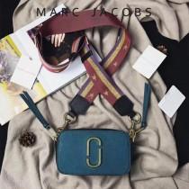 Marc Jacobs-001-2 宋佳趙麗穎同款Snapshot撞色復古金屬雙J扣D扣全新電鍍Logo相機包