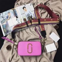Marc Jacobs-001-3 宋佳趙麗穎同款Snapshot撞色復古金屬雙J扣D扣全新電鍍Logo相機包