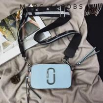 Marc Jacobs-001-7 宋佳趙麗穎同款Snapshot撞色復古金屬雙J扣D扣全新電鍍Logo相機包