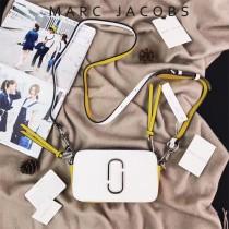 Marc Jacobs-001-5 宋佳趙麗穎同款Snapshot撞色復古金屬雙J扣D扣全新電鍍Logo相機包