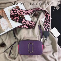 Marc Jacobs-001-4 宋佳趙麗穎同款Snapshot撞色復古金屬雙J扣D扣全新電鍍Logo相機包