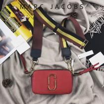 Marc Jacobs-001-19 宋佳趙麗穎同款Snapshot撞色復古金屬雙J扣D扣全新電鍍Logo相機包