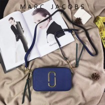 Marc Jacobs-001-14 宋佳趙麗穎同款Snapshot撞色復古金屬雙J扣D扣全新電鍍Logo相機包