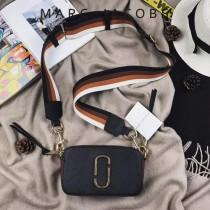 Marc Jacobs-001-21 宋佳趙麗穎同款Snapshot撞色復古金屬雙J扣D扣全新電鍍Logo相機包