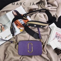 Marc Jacobs-001-16 宋佳趙麗穎同款Snapshot撞色復古金屬雙J扣D扣全新電鍍Logo相機包