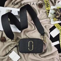 Marc Jacobs-001-25 宋佳趙麗穎同款Snapshot撞色復古金屬雙J扣D扣全新電鍍Logo相機包