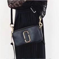 Marc Jacobs-001-15 宋佳趙麗穎同款Snapshot撞色復古金屬雙J扣D扣全新電鍍Logo相機包