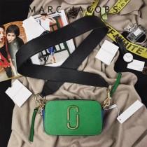 Marc Jacobs-001-24 宋佳趙麗穎同款Snapshot撞色復古金屬雙J扣D扣全新電鍍Logo相機包