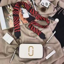 Marc Jacobs-001-11 宋佳趙麗穎同款Snapshot撞色復古金屬雙J扣D扣全新電鍍Logo相機包