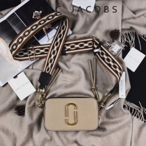 Marc Jacobs-001-22 宋佳趙麗穎同款Snapshot撞色復古金屬雙J扣D扣全新電鍍Logo相機包
