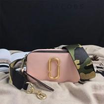 Marc Jacobs-001-18 宋佳趙麗穎同款Snapshot撞色復古金屬雙J扣D扣全新電鍍Logo相機包