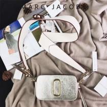 Marc Jacobs-001-26 宋佳趙麗穎同款Snapshot撞色復古金屬雙J扣D扣全新電鍍Logo相機包