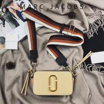 Marc Jacobs-001-20 宋佳趙麗穎同款Snapshot撞色復古金屬雙J扣D扣全新電鍍Logo相機包