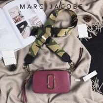 Marc Jacobs-001-17 宋佳趙麗穎同款Snapshot撞色復古金屬雙J扣D扣全新電鍍Logo相機包