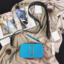 Marc Jacobs-001-23 宋佳趙麗穎同款Snapshot撞色復古金屬雙J扣D扣全新電鍍Logo相機包